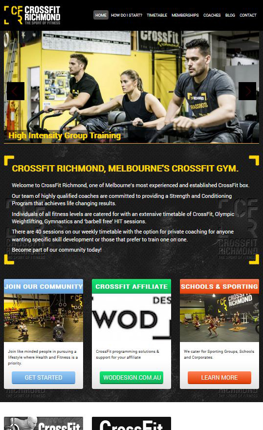 crossfit richmond full design